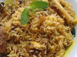 Ambur Mutton Biryani, Indian Recipe