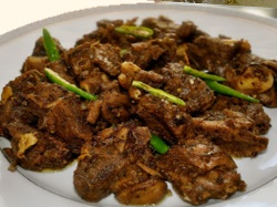 Dry Mutton, Indian Recipe
