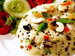 Rava Upma, Indian Recipe